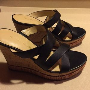 Wedge sandals by Ivanka Trump